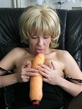 This mature slut wants some black cock delight